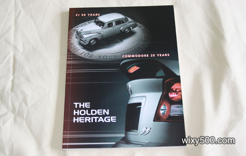 The Holden Heritage book