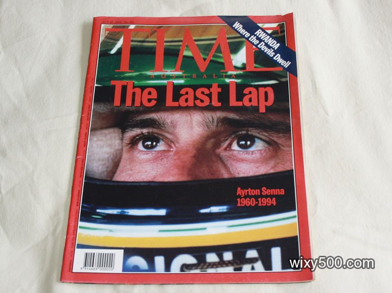 TIME Australia - #20, 16 May 1994 (Ayrton Senna)