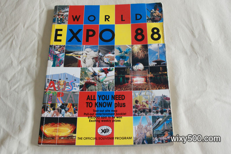 World Expo 88 official souvenir program