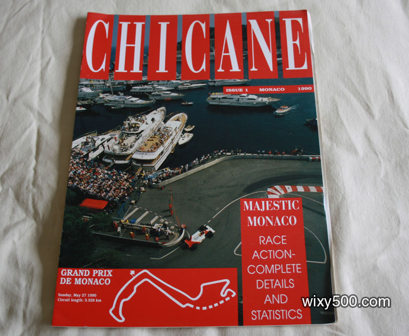 Chicane – issue 1, 'Majestic Monaco' 1990