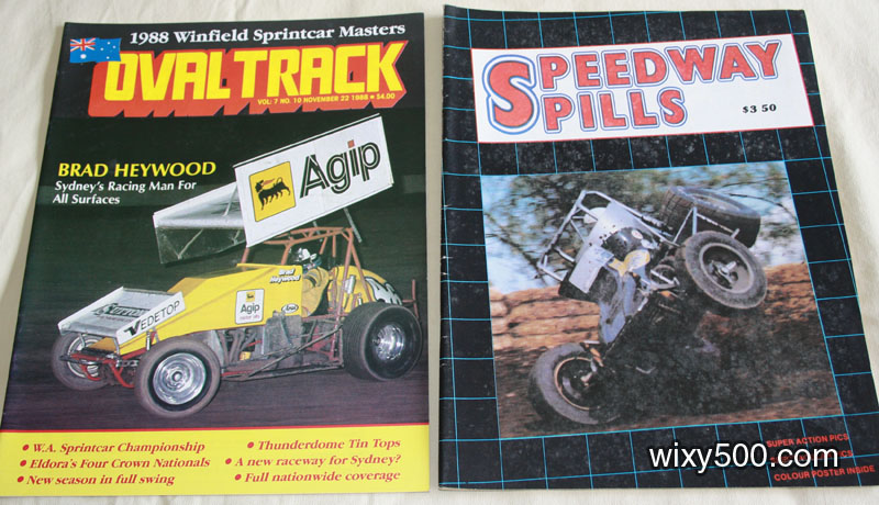 Oval Track – 22 November 1988, Vol 7 No 10, Speedway Spills