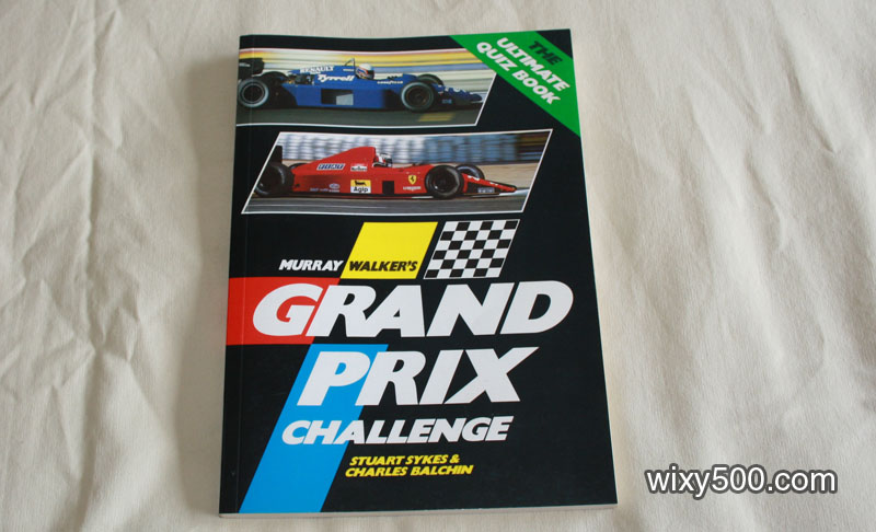 Murray Walker's Grand Prix Challenge quiz book