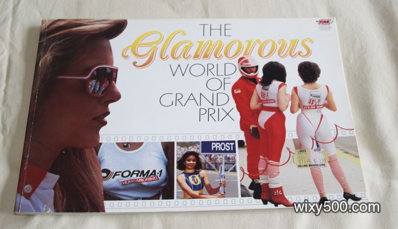 The Glamorous World of Grand Prix photo/picture book