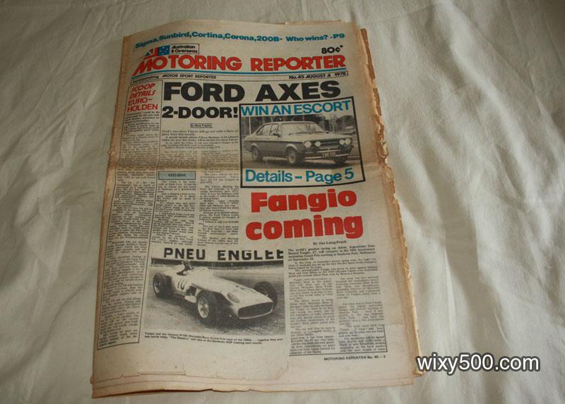 Motoring Reporter - #45, 4 August 1978