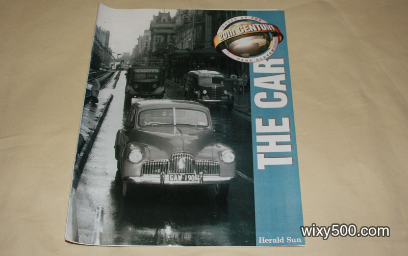 "Heralds Sun supplement 'Images of the 20th Century' number 11 - ""The Car"""