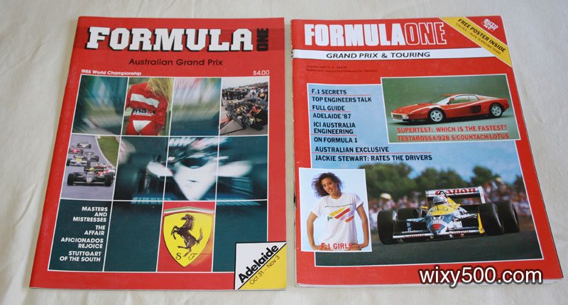 Formula One (AGP 1985 magazine), Formula One Grand Prix & Touring – issue 1, Oct/Dec 1987