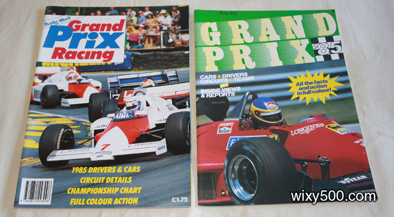 Grand Prix Racing (1985 preview) and Grand Prix '85