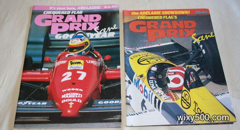 Grand Prix Scene - 1985 and 1986