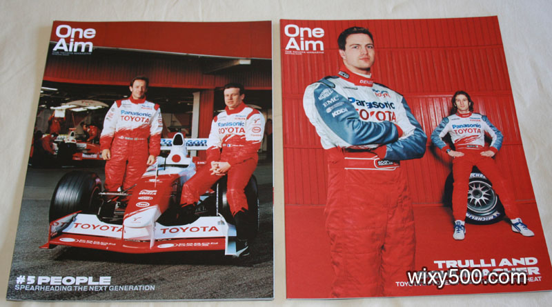 One Aim (Toyota Racing magazine) – Spring 2003 and Spring 2005