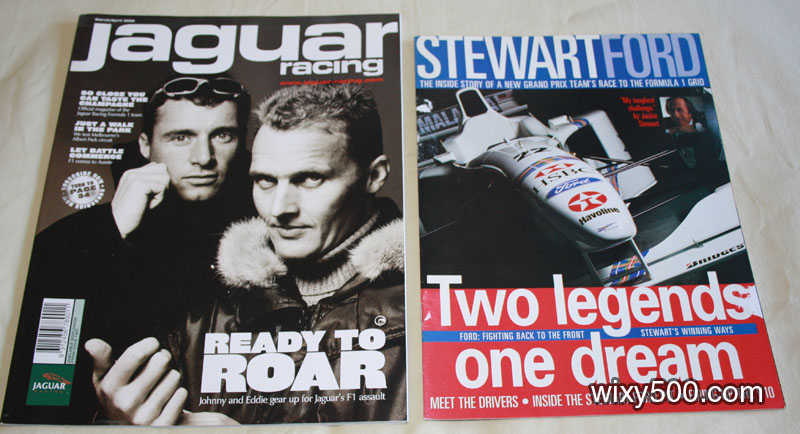 Jaguar Racing – March/April 2000, Stewart Ford