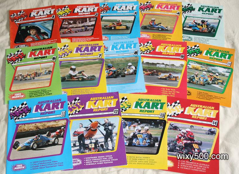 Australian Kart Report magazine