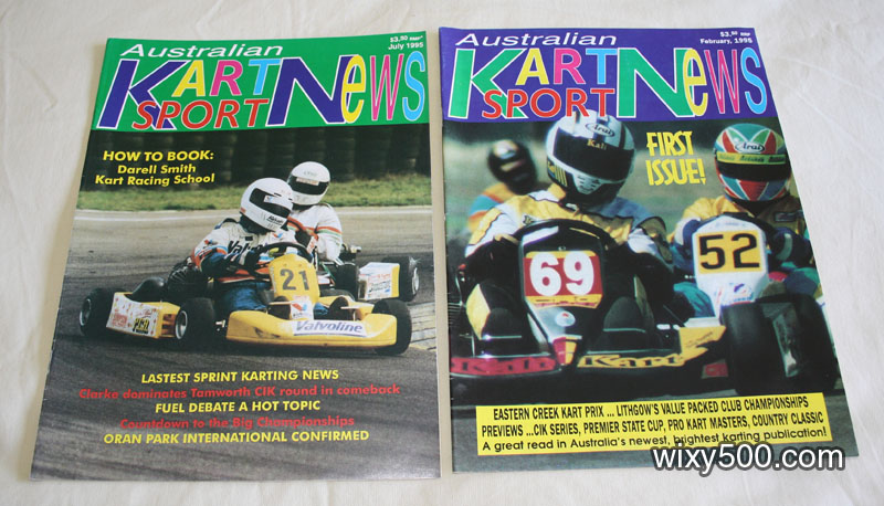 Australian Kart Sport News - Feb and July 1995