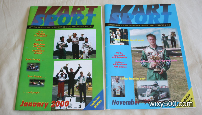 Kart Sport (NZ Federation publication) Nov 99, Jan 2000