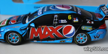 2014 Pepsi MAX Ford Falcon Bathurst winner - Chaz Mostert & Paul Morris