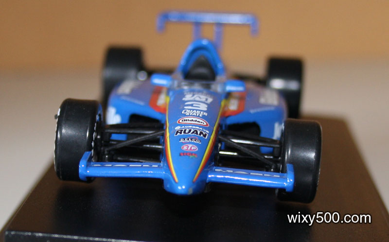 It's chunky-n-clunky! Ertl's other Indycars are of the same standard