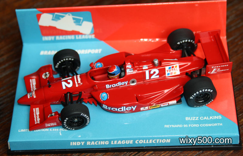 Buzz Calkins' IRL Reynard Cosworth, one of just a handful of models in Minichamps' Indy Racing League Collection