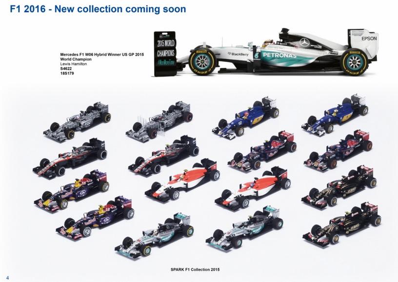 2015 Spark F1s