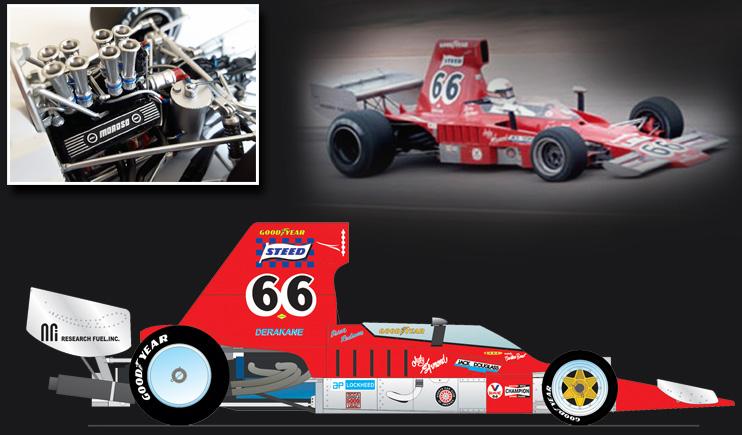 Brian Redman Lola T332, 1974 US F5000 Champion