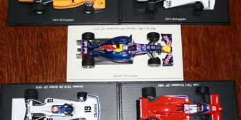 A batch of Aussies in F1 models