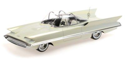 1955 Lincoln Futura by Minichamps in the original pearlescent white colour