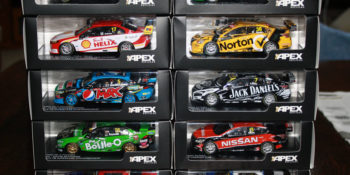 FG-X Falcon V8 Supercars from Apex, plus the Nissans and a Volvo, released at the end of last year.