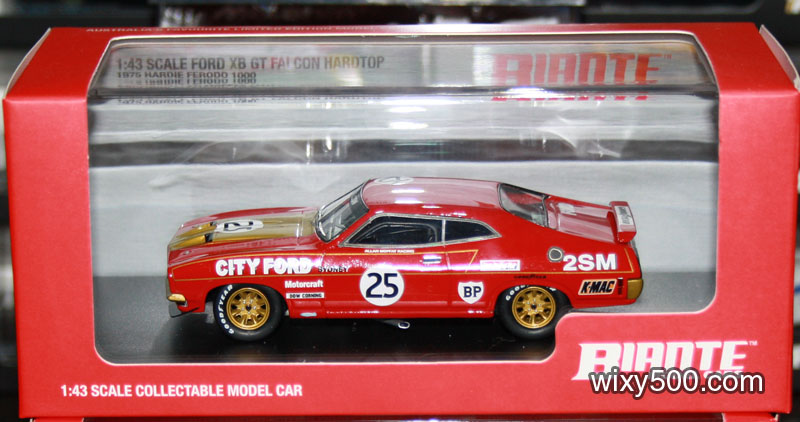 Moffat's 1975 Bathurst Falcon also arrived from Biante.
