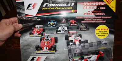 Panini F1 Car Collection - issue 1, Ayrton Senna McLaren MP4/4 1988