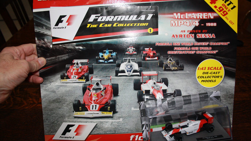 review panini f1 model car collection issue 1 wixy500. Black Bedroom Furniture Sets. Home Design Ideas