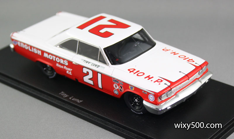 The 1963 Ford Galaxy of Tiny Lund (who wasn't so tiny in real life!)