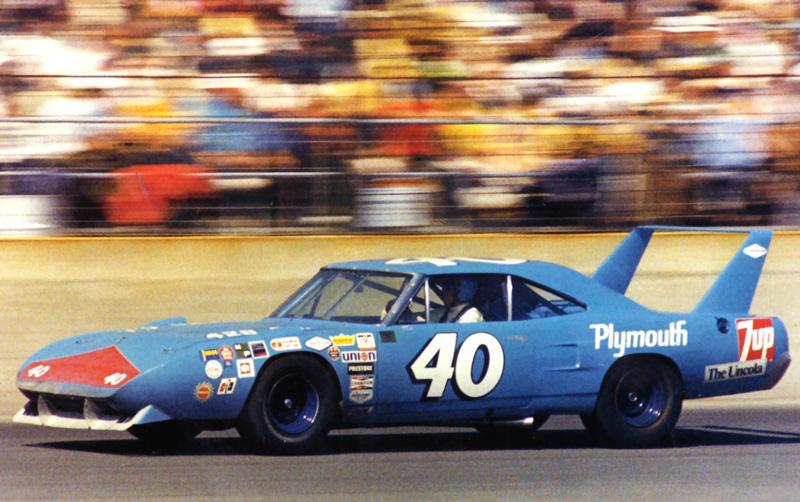 Pete Hamilton at Daytona, 1970
