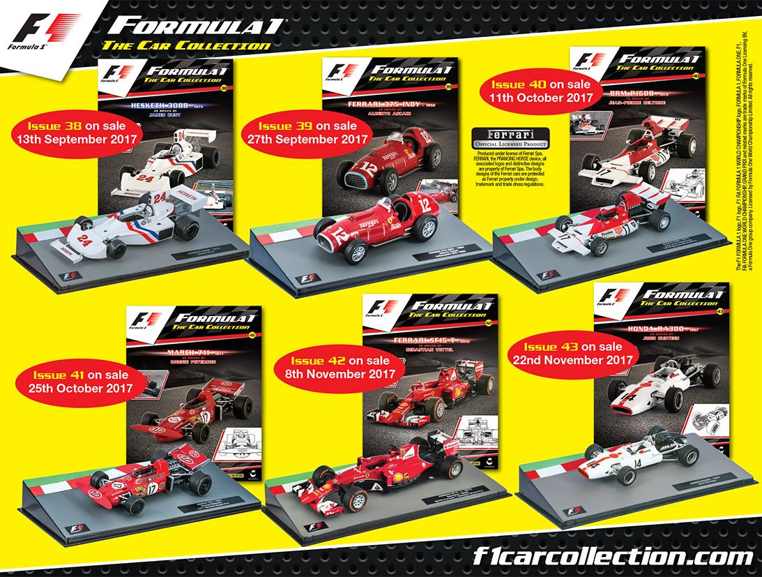 Additions to Panini F1 Collection