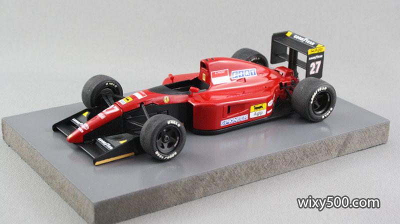 1991 Ferrari 643, Prost (Rosso, 1:43)