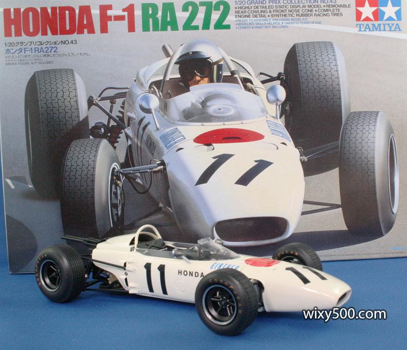 1965 Honda RA272, Ginther (Tamiya 1:20)