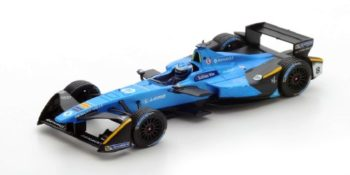 Spark S5921 is the Renault e.dams of Nicolas Prost, Hong Kong 2016 in 1/43 scale