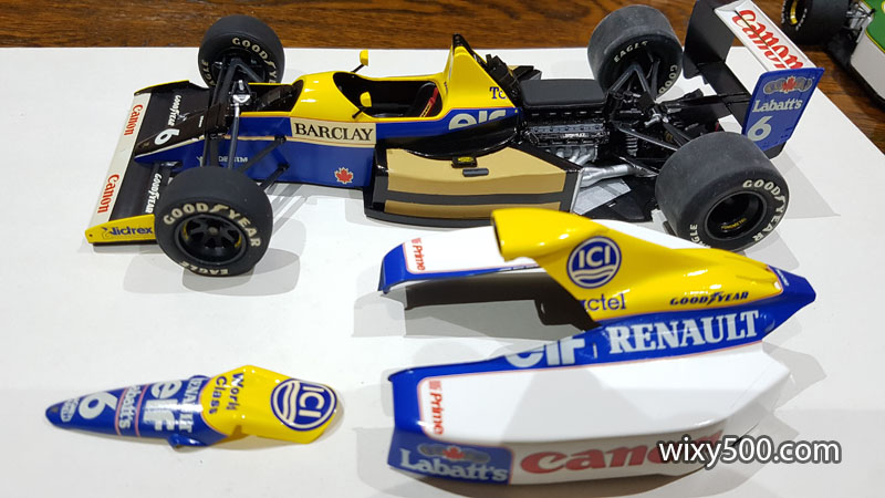 Tamiya 20025 - 1990 Williams FW13B (built as Ricardo Patrese)