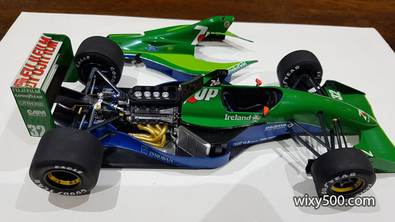 Tamiya 20032 - 1991 Jordan 191 (built as Bertrand Gachot)