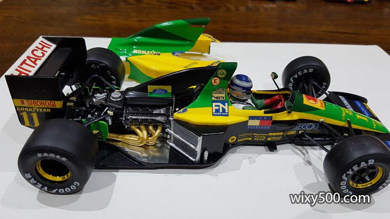 Tamiya 20034 - 1992 Lotus 102D (Mika Hakkinen)