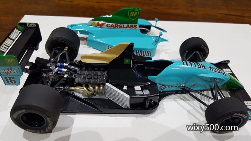 Tamiya 20028 - 1990 Leyton House CG901B (built as Ivan Capelli)