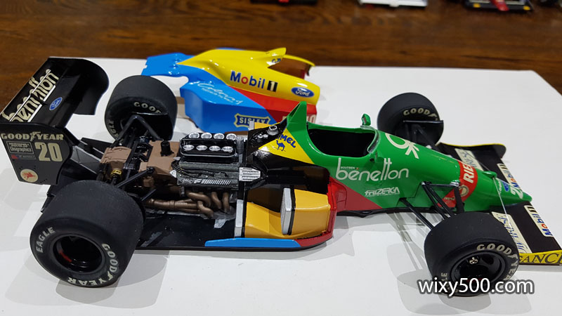 Tamiya 20021 - 1988 Benetton B188 (built as Thierry Boutson)