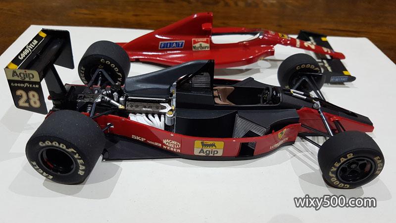 Tamiya 20024 - 1989 Ferrari F189 late version (built as Gerhard Berger)