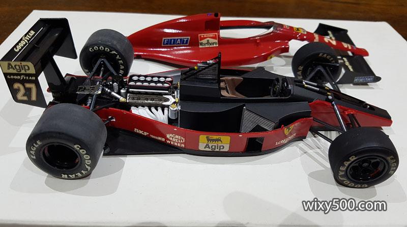 Tamiya 20023 - 1989 Ferrari F189 early version (built as Nigel Mansell)