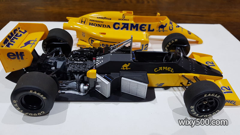 Tamiya 20020 - 1987 Lotus 99T (built as Ayrton Senna)