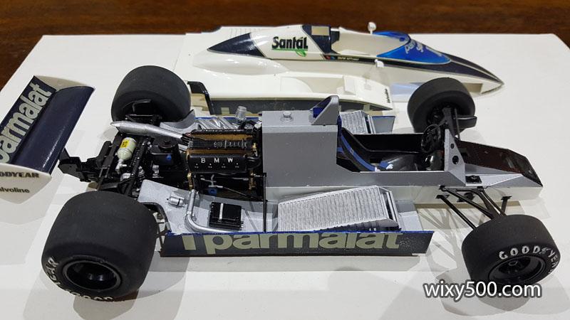 Tamiya 20017 - 1982 Brabham BT50 (built as Nelson Piquet)