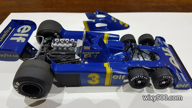 Tamiya 20001 - 1976 Tyrrell P34 (built as Jody Scheckter)
