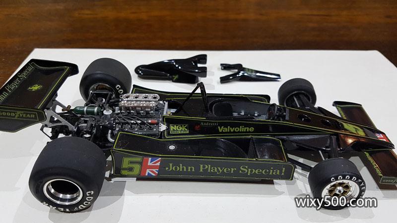 Tamiya 20004 - 1977 Lotus 78 (built as Mario Andretti)