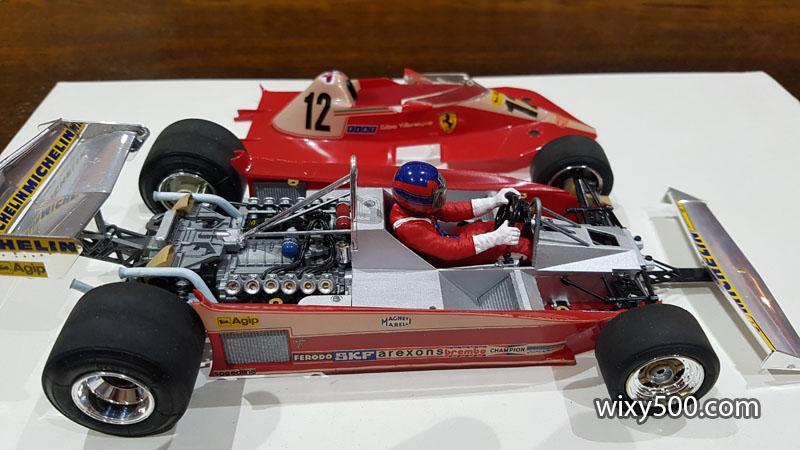 Tamiya 20010 - 1978 Ferrari T3 (built as Gilles Villeneuve)