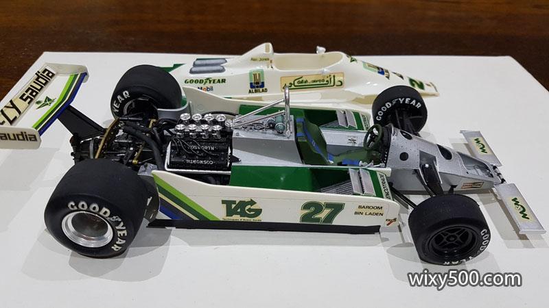 Tamiya 20014 - 1979 Williams FW07 (built as Alan Jones)
