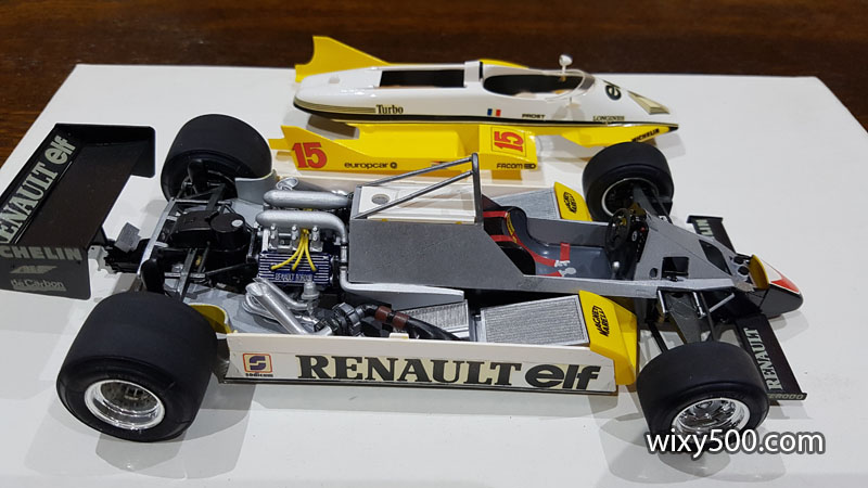 Tamiya 20018 - 1982 Renault RE30B (built as Alain Prost)