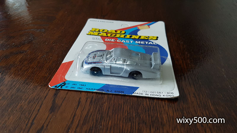 FREE to a good home - Diecast toy car of the 'Moby Dick' Porsche 935, 1:64ish scale.